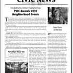 Civic News, April 2010: Grants, Tupper Thomas, and More