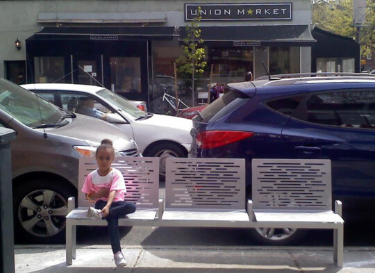 DOT Bench, Union and 6th Ave
