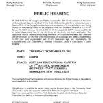 Public Hearing Tonight 11/21/13 – NYM Hospital expansion