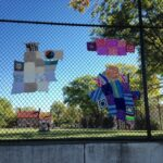 #4thAveYarnBomb is a colorful success