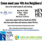 Come meet your 4th Avenue Neighbors!