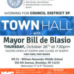 Town Hall with Mayor Bill de Blasio