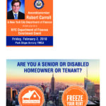 NYC Dept. of Finance Enrollment Event: Homeowners, Renters, Disabled Persons, Senior Citizens and Veterans