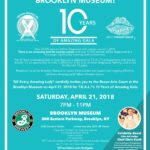 T.E.A.L. – Tell Every Amazing Lady – 10 Years of Amazing Gala at the Brooklyn Museum on April 21st