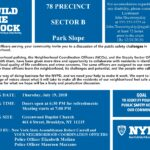 Build the Block: Neighborhood Policing and Safety Meeting: 78 Precinct, Park Slope